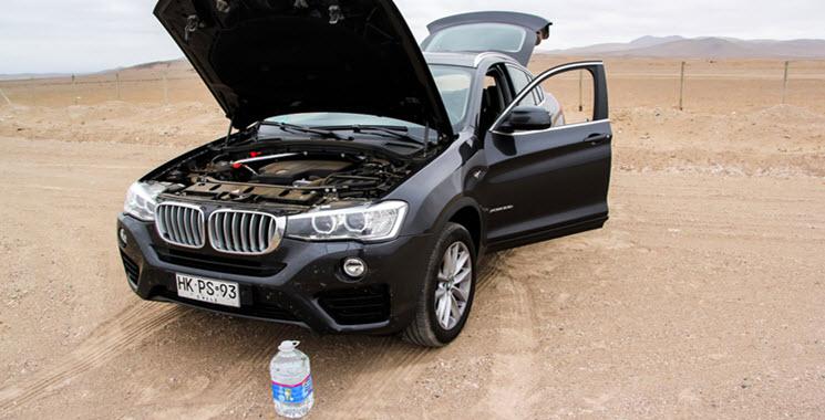 BMW F26 X4 Engine Overheating