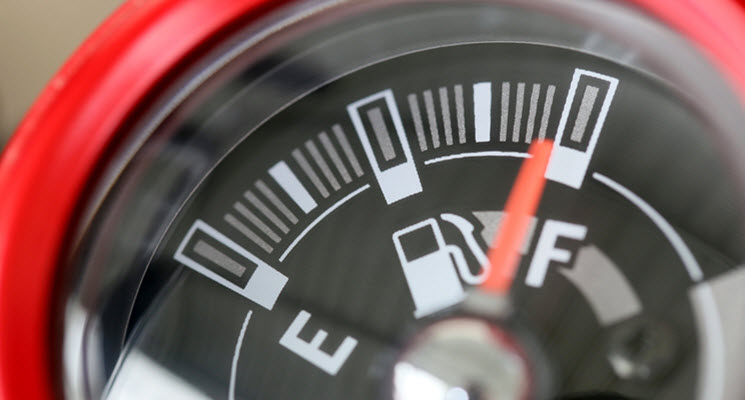 Mini Cooper Fuel Gauge