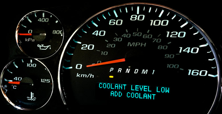 BMW Coolant Warning Light