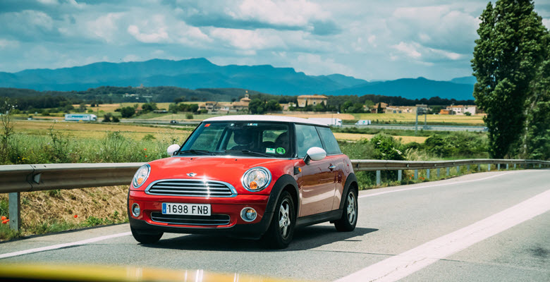 Red MINI Hatch