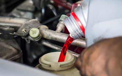 Land Rover Transmission Fluid Filling