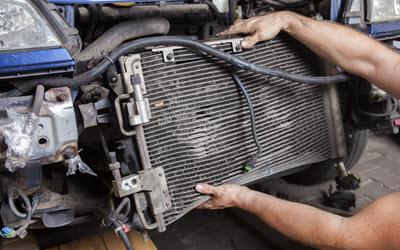 MINI Radiator Repair