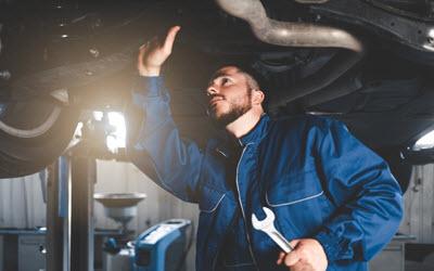Volvo Front Strut Inspection